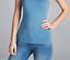 Basic Long Sleeve Solid Top Womens Plain Cotton T-Shirt Stretch Tight Crew Neck