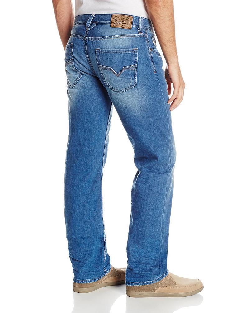 Diesel Larkee 0830w Herren Regular Gerades Bein Enge Jeans 3d Neu 32x32