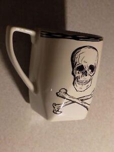 222-Fifth-SKULL-Coffee-MUG-Fine-China-Same-Day-SAFE-Shipping