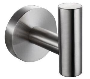 Wall-Mount-Stainless-Steel-304-Brushed-Nickel-Single-Robe-Towel-Coat-Hook-Hanger