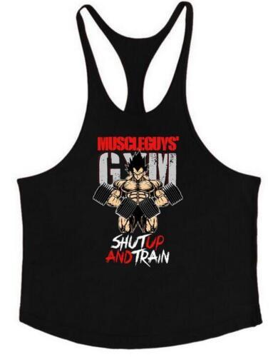 Men/'s Stringer Muscle Bodybuilding Shirt Tank Top Gym Singlet Fitness Sport Vest