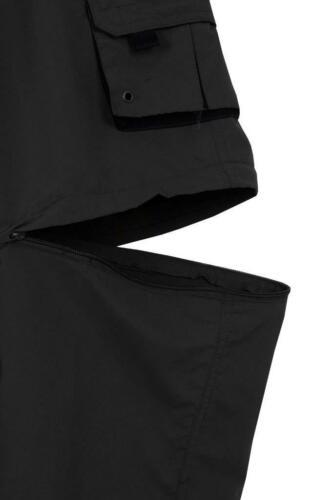 Pantaloncini da uomo 3//4 2 in 1 Cargo combattimento Zip Off Estivi Jogging Pantaloni Casual M L X