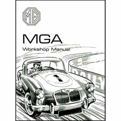 Restore MG MGA 1955-1962 Roadsters Coupes MGA Restoration Manual Repair Guide