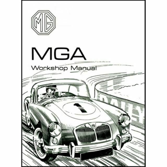Mga Repair Shop Manual 1955 1956 1957 1958 1959 1960 1961 1962 Inc Wiring Mg 38newport Co Uk
