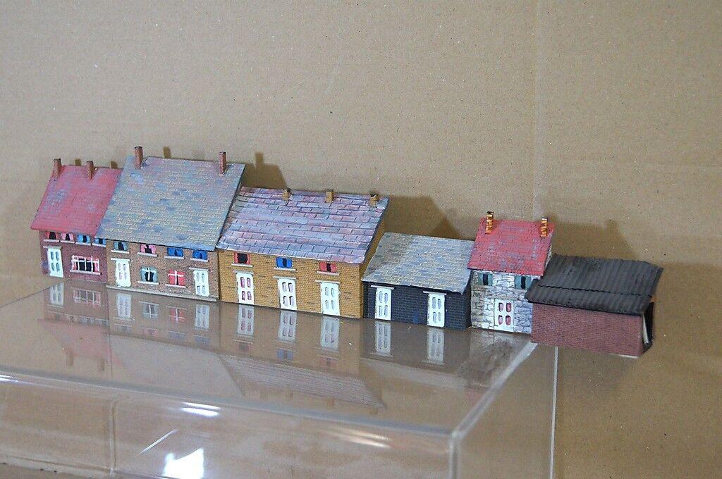 Hornby Bachuomon Lima Oo Kit Costruito Terrace House Sfondo modellolo Scene 2 MT