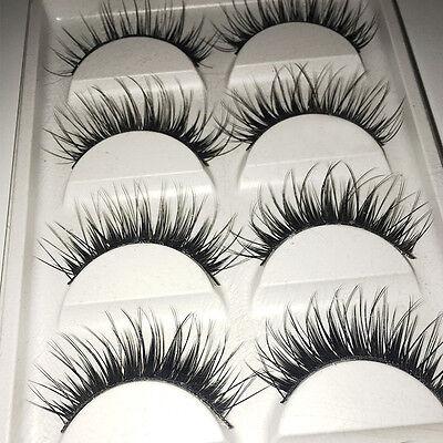 Good Quality Thick Cross Makeup False Eyelashes Beauty Eye Lashes