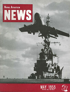 Image is loading NAVAL-AVIATION-NEWS-MAY-1955-USS-MIDWAY-CV-