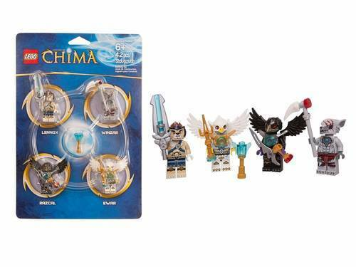 LEGO Legends of Chima Minifigure Accessory Kit #850779 RARE!!! ***CLEARANCE***
