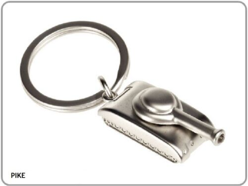 morphose® keychain PIKE - Schlüsselanhänger Led Licht - Panzer - Tank- Metall