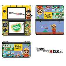 Super Mario Maker Vinyl Skin Sticker for NEW Nintendo 3DS XL (with C Stick)
