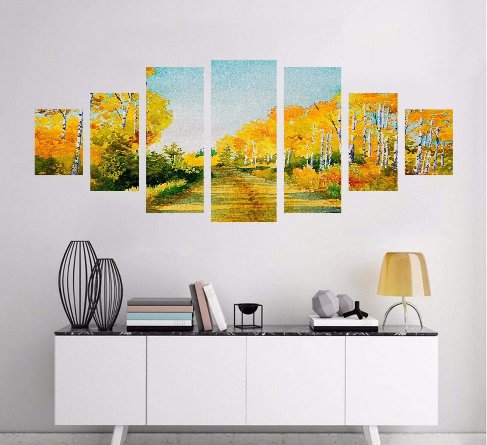 3D Golden Forest 56 Unframed Print Wall Paper Decal Wall Deco Indoor AJ Wall