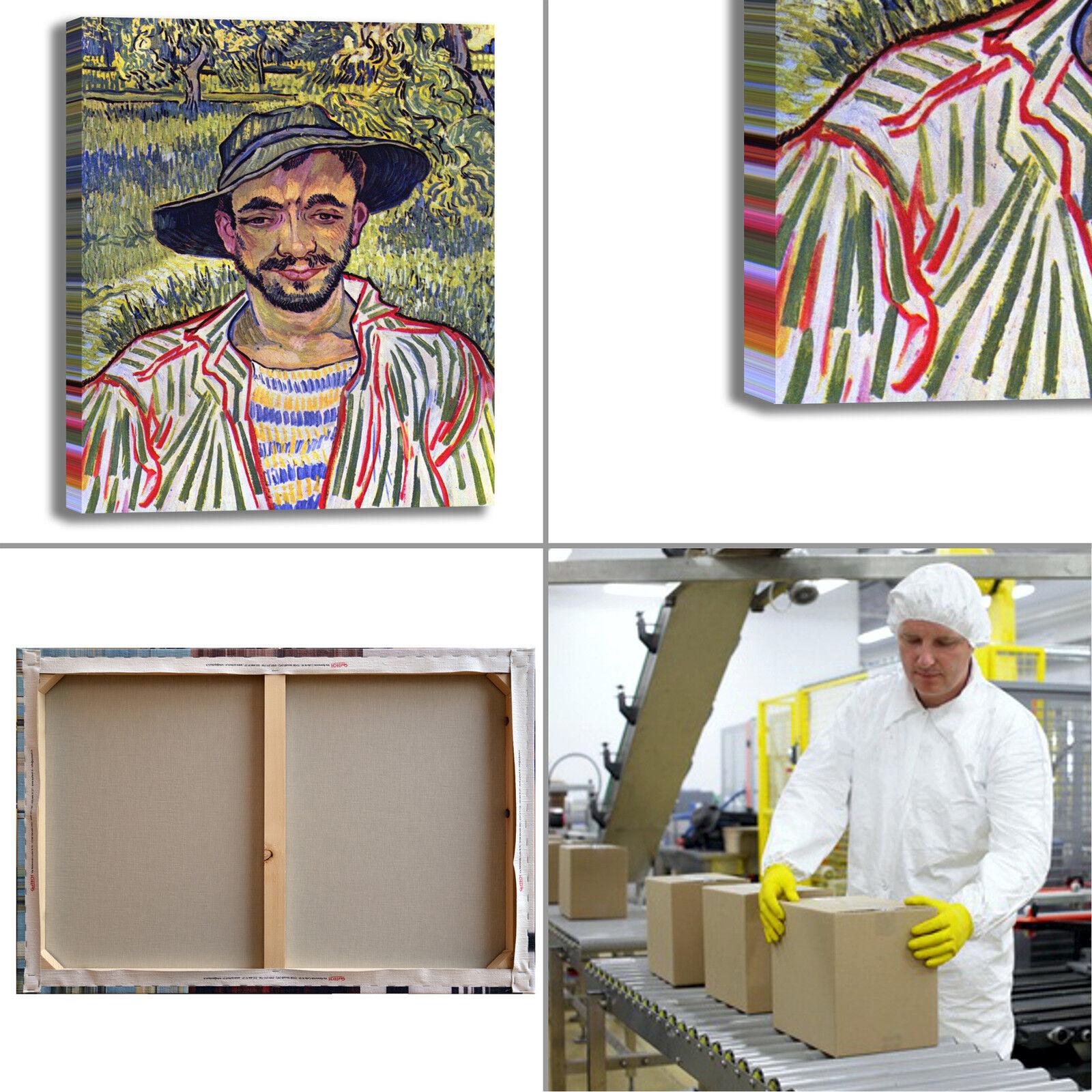 Van Gogh il arRouge giardiniere design quadro stampa tela dipinto telaio arRouge il o casa b6f6f8