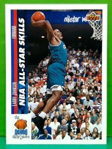 Larry Johnson rookie subset card 1991-92 Upper Deck #480