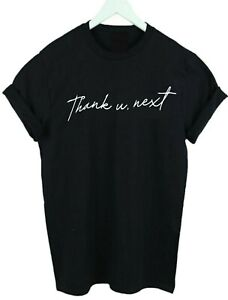 Thank-u-next-Slogan-T-shirt-Top-Grande-Thank-You-Sweetener-Adult-amp-Kids-sizes