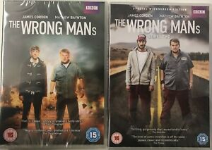 The-Wrong-Mans-Series-1-amp-2-2xDVD-New-Sealed-Missing-Slipcover