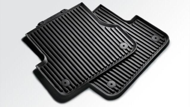 ORIGINALE Audi a4 8w tappetini in gomma gummifussmatten TAPPETINI POSTERIORE 8w0061511 041
