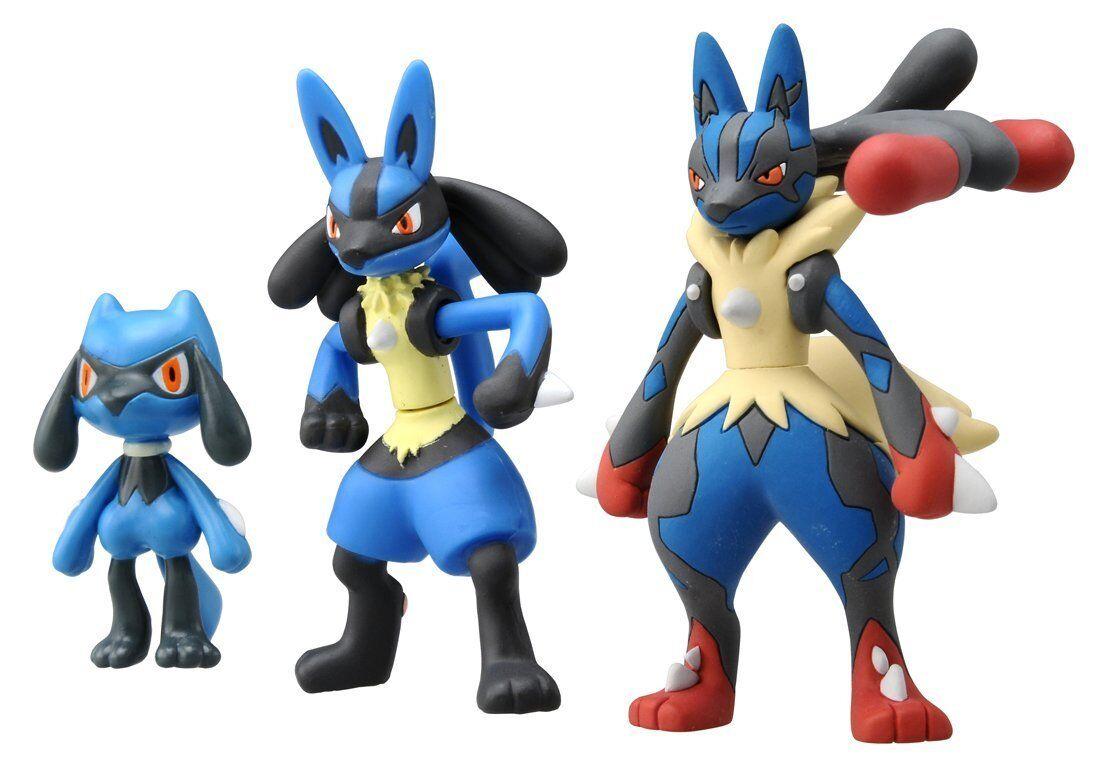 Takara tomy pokemon go xy mega sinker lucario mega - Pokemon xy mega evolution ...