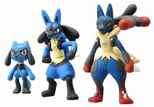 Pokemon 4 Figure Gift Pack-mega Evolution Lucario Pyroar Dedenne ...