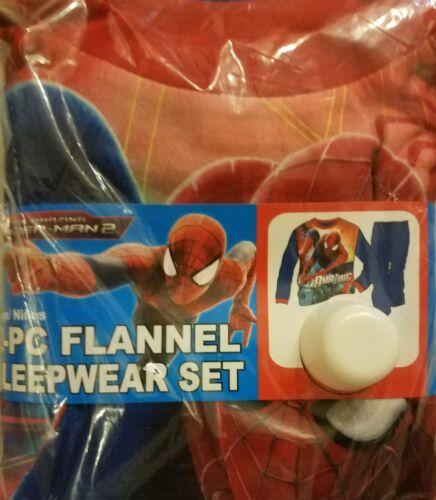 SPIDERMAN Boys Pajamas Shirt Pants pjs Size 4 5 8