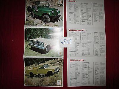 N°4569 / Dépliant Mexico Vehiculos Automotores Mexicanos 1975 Aangenaam Om Te Proeven