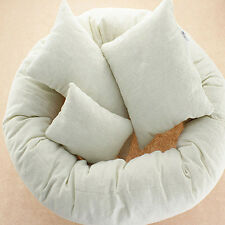 4Pcs Lovely Newborn Baby Pillow Basket Filler Wheat Photography Props Beanbag