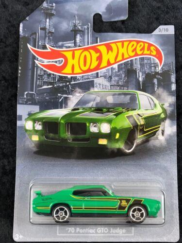 Hot Wheels 2020 American Steel '70 Pontiac GTO Judge Walmart Exclusive!