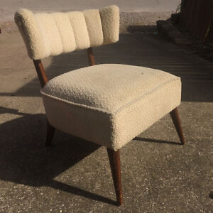 Stupendous Details About Vintage 1950S Mid Century Danish Wood Chair Accent Retro Atomic Lounge Pabps2019 Chair Design Images Pabps2019Com