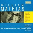 Mathias Clarinet Concerto Harp Concerto Piano Concerto No 3 CD 2006
