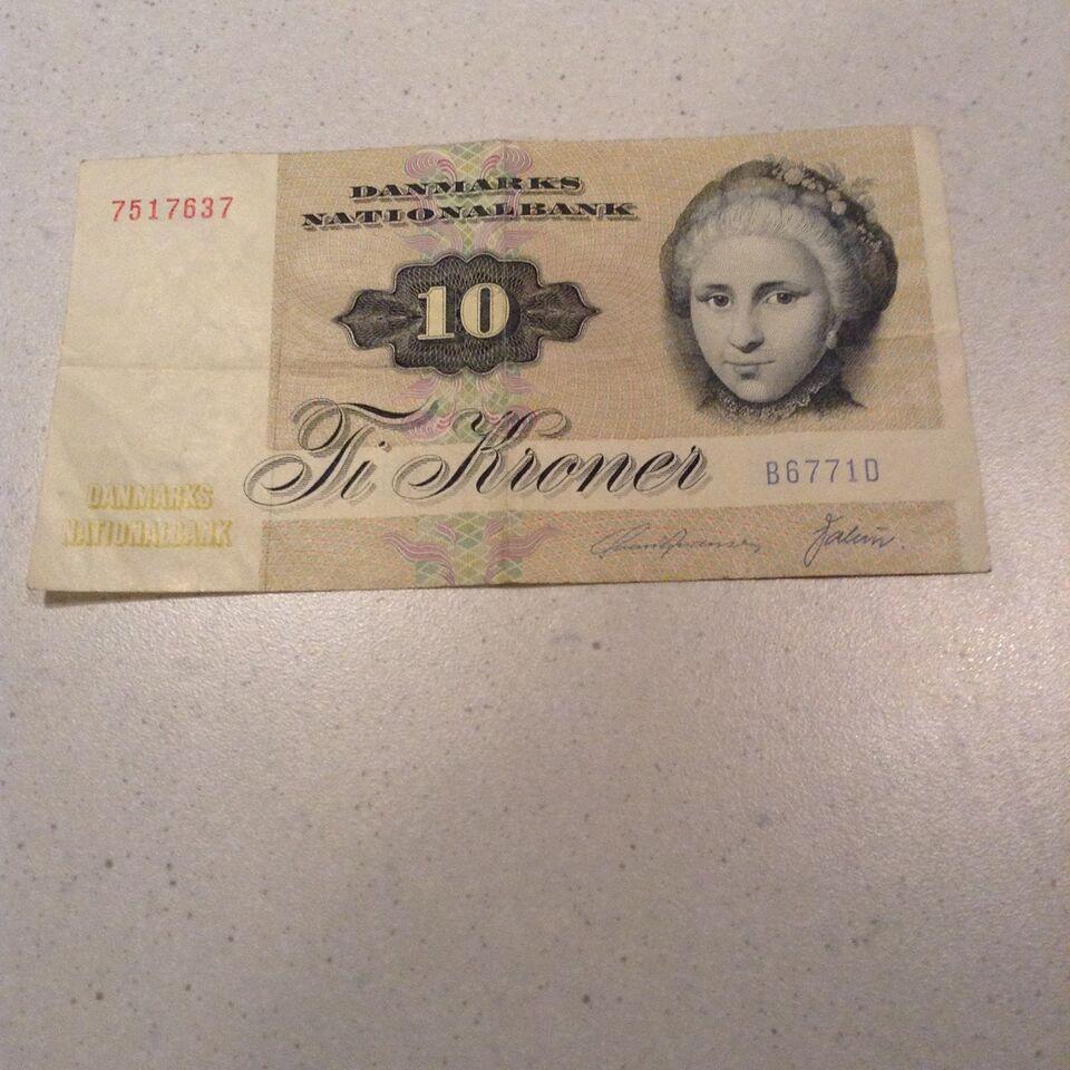 Danmark, sedler, 10