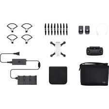 DJI Spark Mini Drone Fly More Combo - Alpine White (DJI Refurbished)