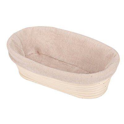 "10"" Round Banneton Proofing Basket Bread Bowl Rising Scraper Liner Dough Bakewar"