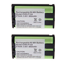 2x Phone Battery For Panasonic KX-TG2322 KX-TG2344 KX-TG2346 KX-TG2355 KX-TG2356
