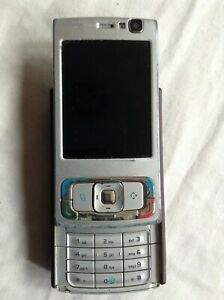 Purple Working Silver Incomplete Nokia For Details Not Phone Slide About N95-1 Parts And