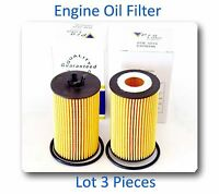 Lot Of 3 Oil Filter Ch10246 Fits:buick Chevrolet Pontiac Saturn Suzuki