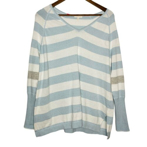 Lisa Todd Striped long sleeve sweater womens size