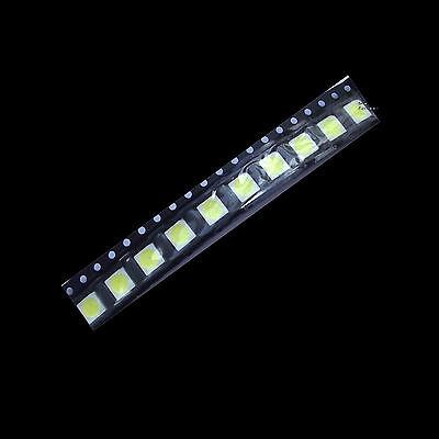 100 pcs New PLCC-6 5050 SMD 3-CHIPS white Ultra bright LED