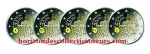 2 Euro  Allemagne 2015- Réunification Allemande 5 Ateliers