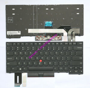 Brand-New-IBM-Thinkpad-E490-E495-L480-L490-laptop-US-black-keyboard-Non-backlit