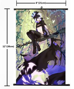 Hot Japan Anime  Rokka no Yuusha  Wall Poster Scroll Home Decor 1736