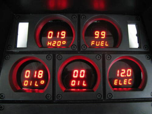 1978-1982 C3 Corvette Digital Dash Panel Red LED Gauges Made In The USA