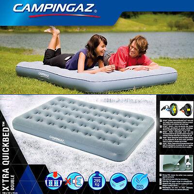 Sport Schlafausrüstung Gewidmet Campingaz Luftbett X'tra Quickbed Double Campingbett Luftmatratze Gästebett