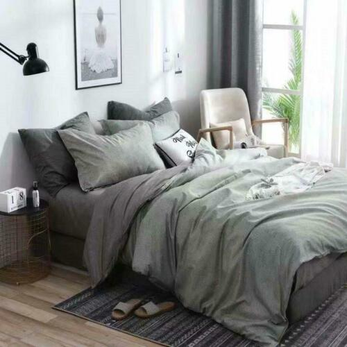 3tlg Modern Bettwäsche Set 135x200//200x200//240x220 Bettbezug Kissenbezug Stil