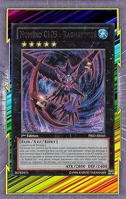 Carte Yu-Gi-Oh Numéro C65 Roi Supradémon SHSP-FR048 Rare Française