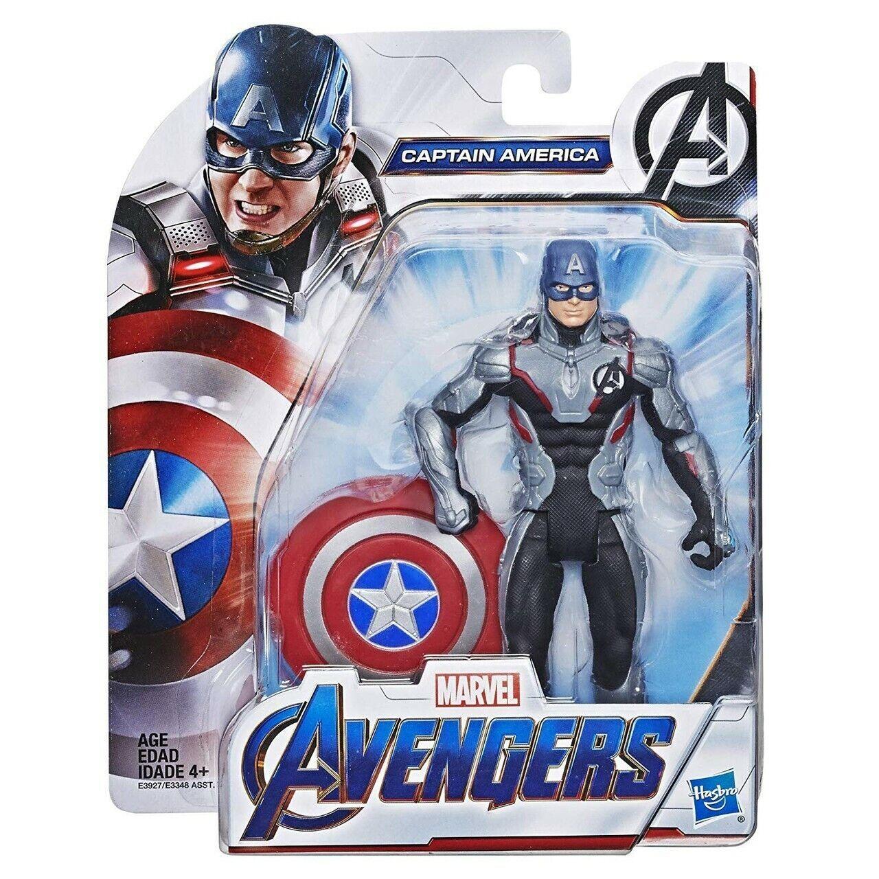 Marvel Avengers Endgame Captain America Action Figure Hasbro