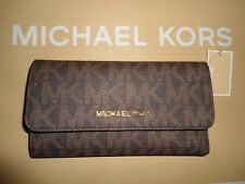 3fd720ce4bb08 item 2 NWT Michael Kors Jet Set Travel Tri-Fold Wallet Signature Brown  Acorn 35S8GTVF3B -NWT Michael Kors Jet Set Travel Tri-Fold Wallet Signature  Brown ...