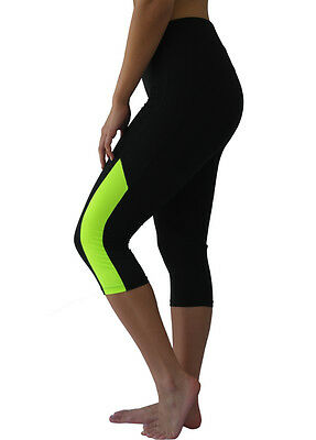 W-Sport® Women's Workout Fitness Training Sports Athletic Yoga Capri Legging 857