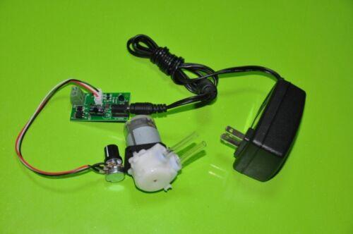 24V DC Dosing Pump Peristaltic Dosing Head Adjustable Speed For Aquarium Lab