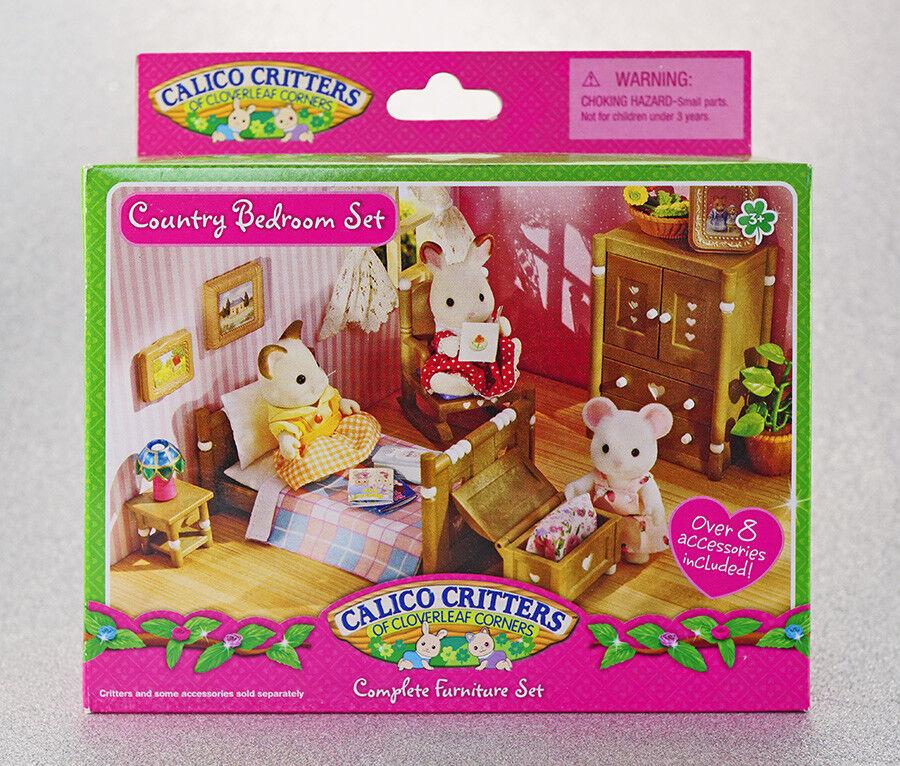 Sylvanian Families Calico Critters Country Dormitorio Conjunto de Muebles
