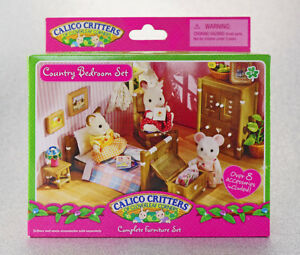 Details about Sylvanian Families Calico Critters Country Bedroom Furniture  Set