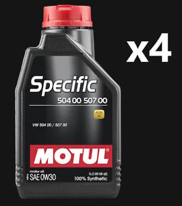 4x-MOTUL-SPECIFIC-504-00-507-00-0W30
